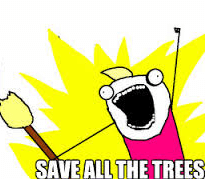 save all the trees