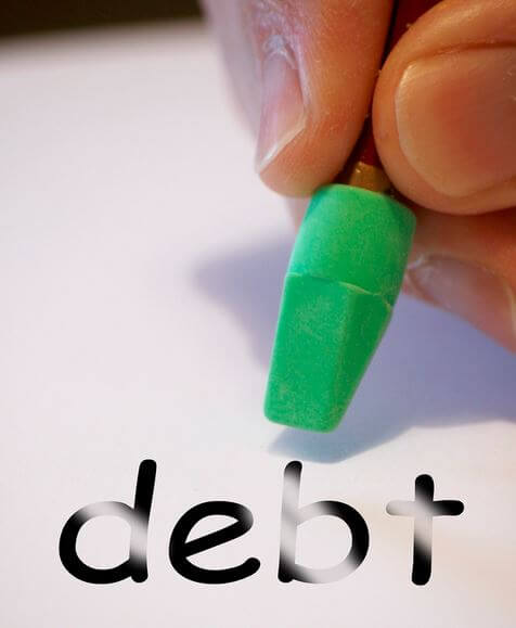 erasing your debts