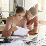 Boy & girl budgeting